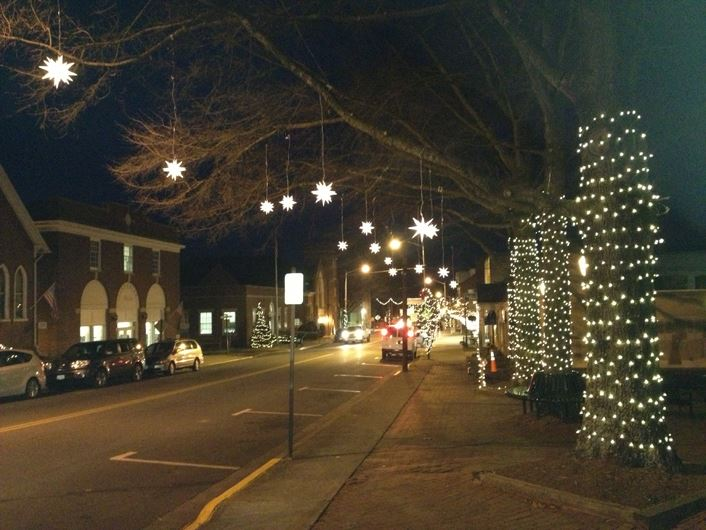 Main Street at Christmas.Revised